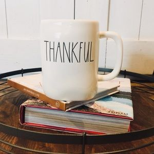 Rae Dunn THANKFULL mug